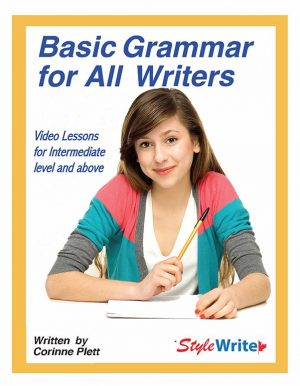 Basic Grammar for All Writers Video Course