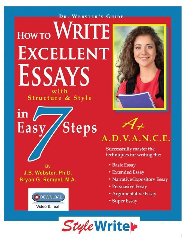 How to Writer Excellent Essays Video Course